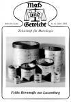 M&G Zeitschrift Nr 061 bis 070, März 2002 bis Juni 2004. DOWNLOAD (Pdf-Datei)
