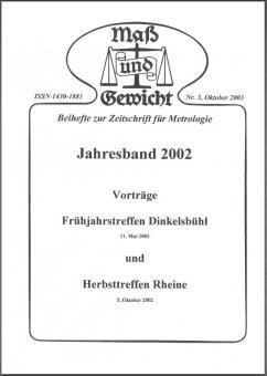Sonderheft Nr. 3, Okt. 2003. Download - herunterladbare Datei (Pdf)