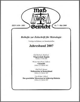 Sonderheft Nr. 7, Mai 2008. Download - herunterladbare Datei (Pdf)