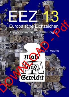 Nr. 14 - EEZ13 - Europäische Eichzeichen, Ausgabe 13 als downloadbare Pdf-Datei. Download - Datei (Pdf)