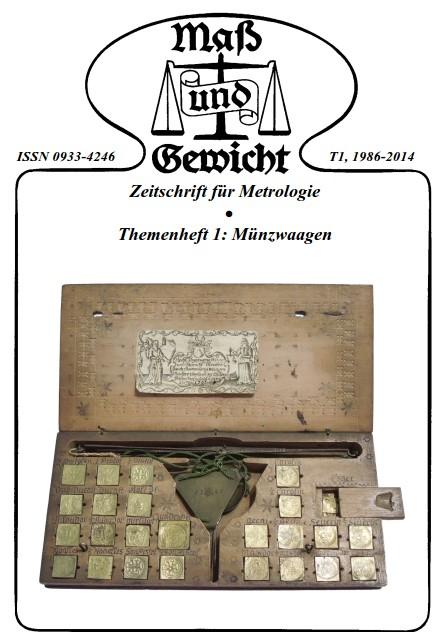 M&G Themenheft Nr. 1: Münzwaagen, als downloadbare Pdf-Datei.
