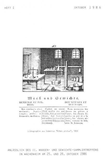 M&G Zeitschrift Nr 001, Okt. 1986. DOWNLOAD (Pdf-Datei)