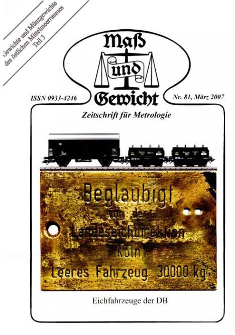 M&G Zeitschrift Nr 081 bis 090, März 2007 bis Juni 2009. DOWNLOAD (Pdf-Datei)