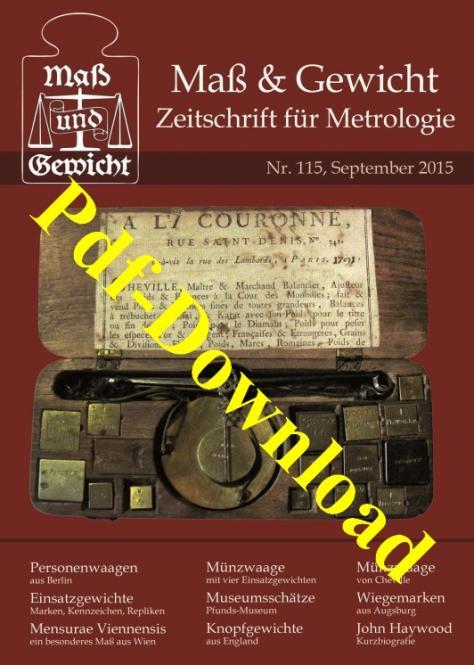M&G Zeitschrift Nr 115, September 2015. DOWNLOAD (Pdf-Datei). Kostenloses Probeexemplar.